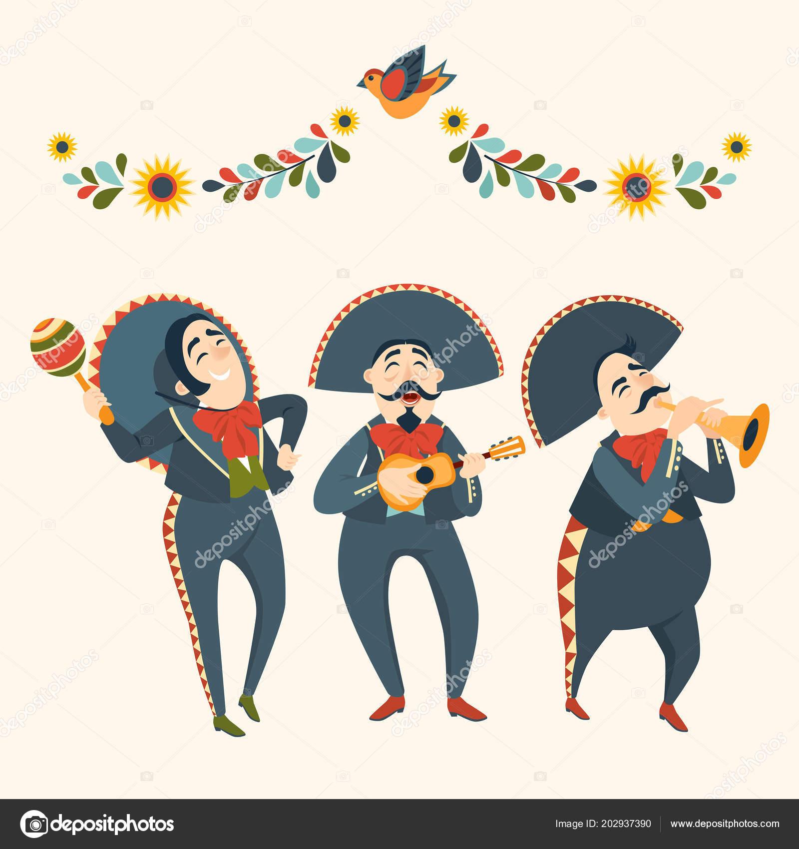 Mariachi Juegos Banda Juegos Instrumentos Musicales Fiesta Mexicana