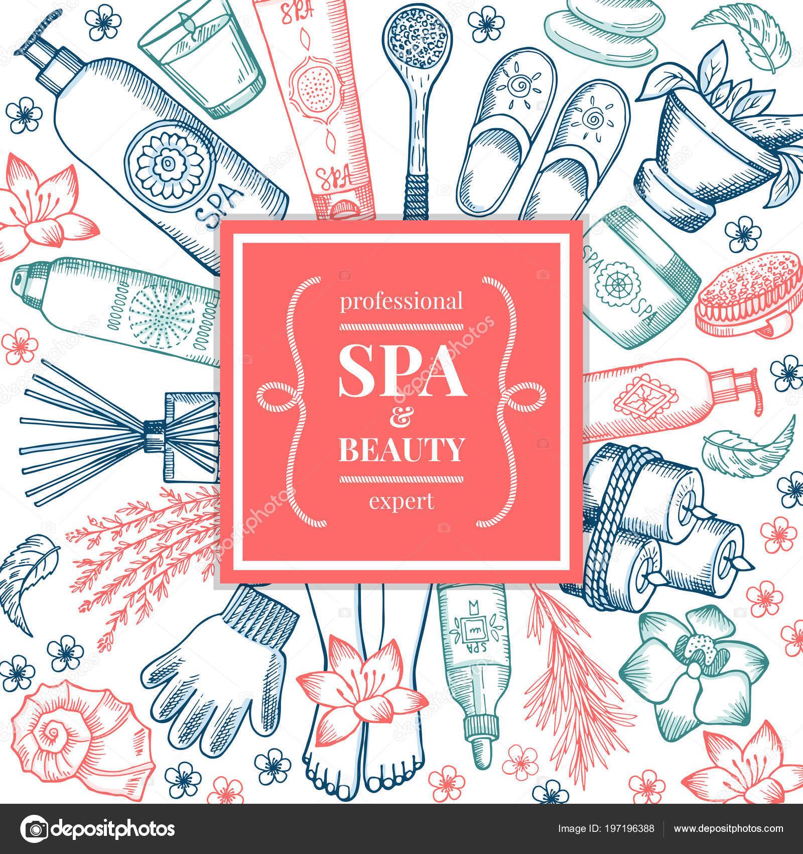 Spa Salon Hintergrund Bilder Verschiedene Natürliche Organische ...