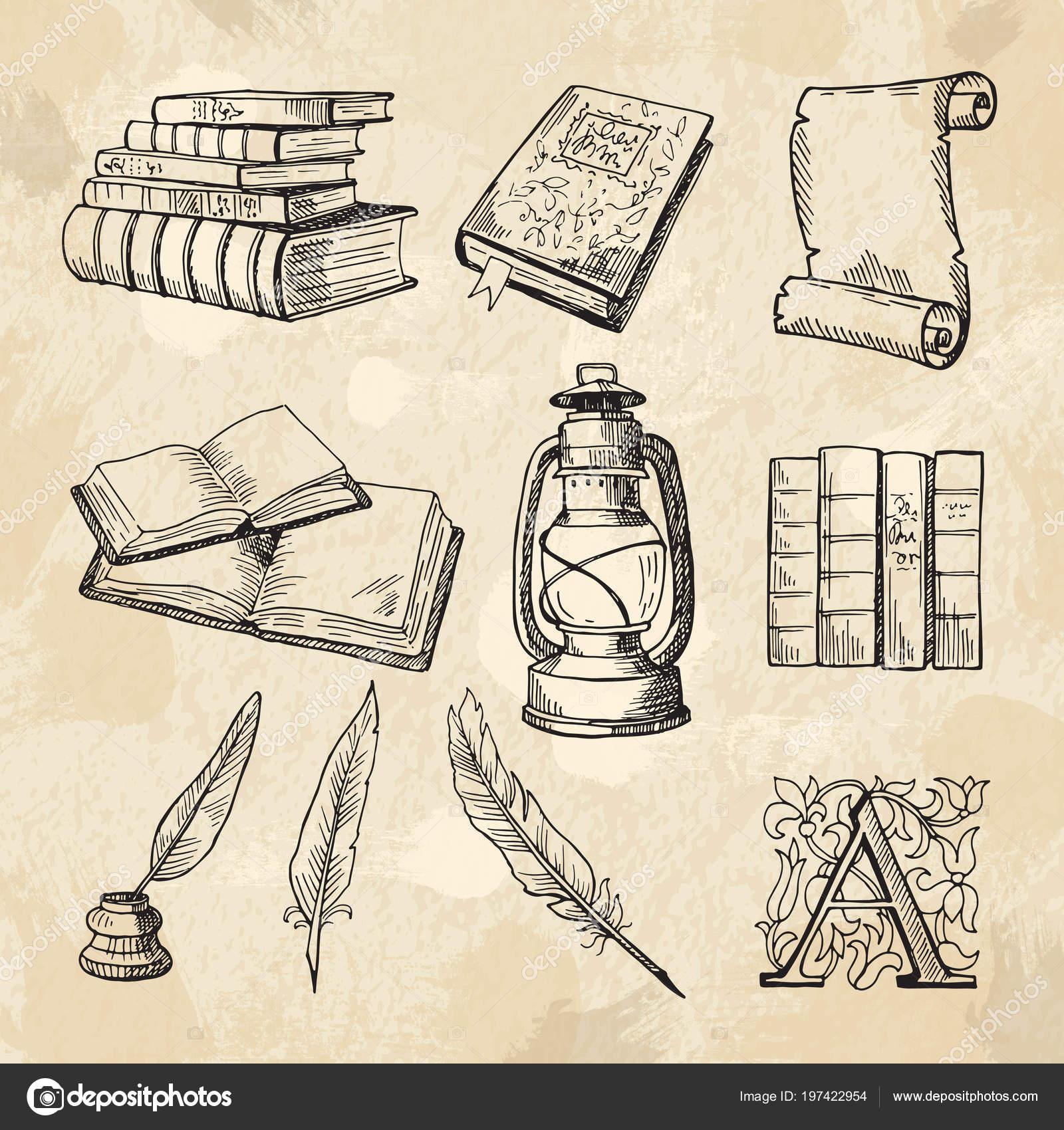 Dibujos Literatura Imagenes Del Concepto De Literatura Libros De