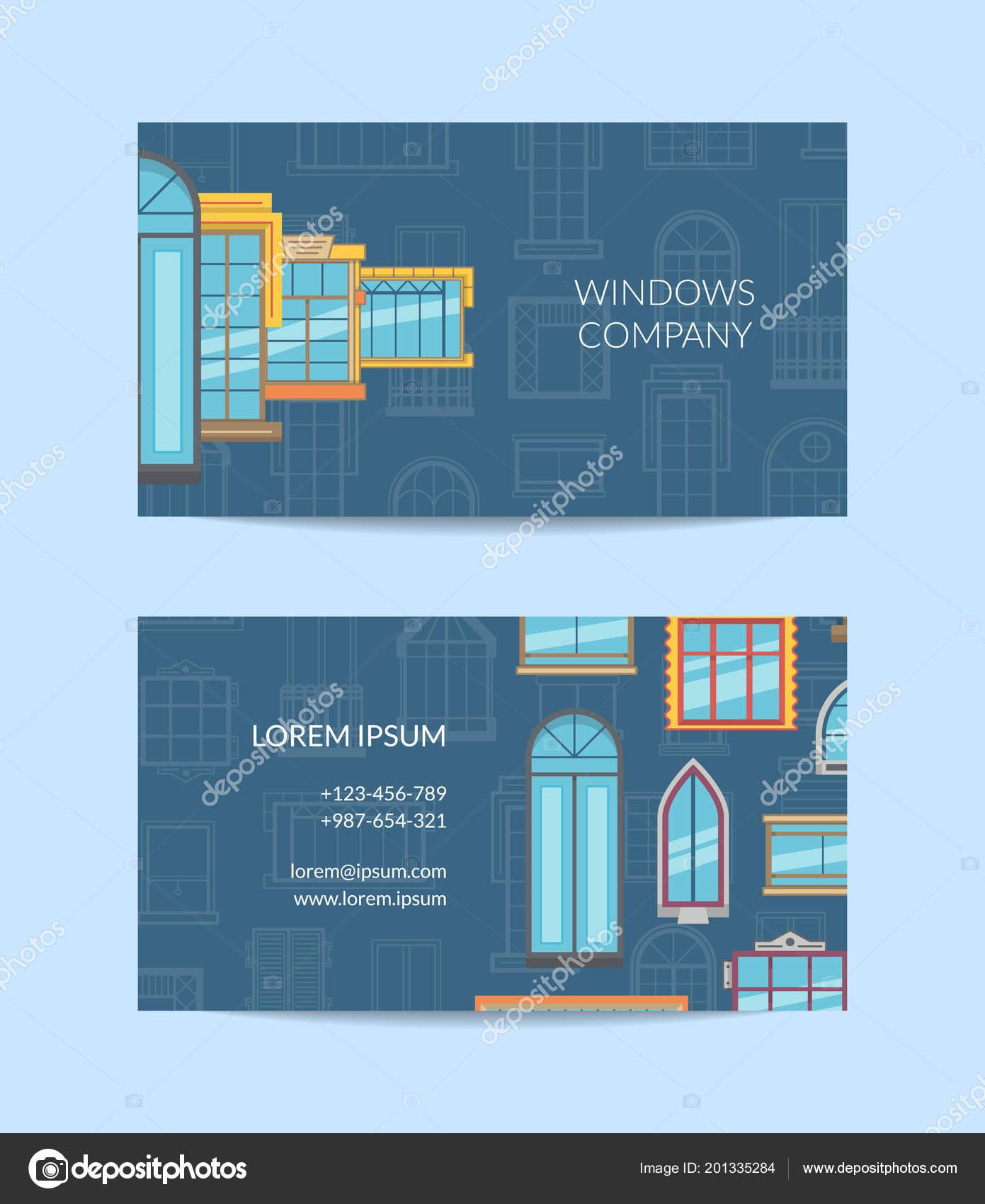 Vector window flat icons business card vetor de stock onyxprj vector window flat icons business card vetor de stock reheart Gallery