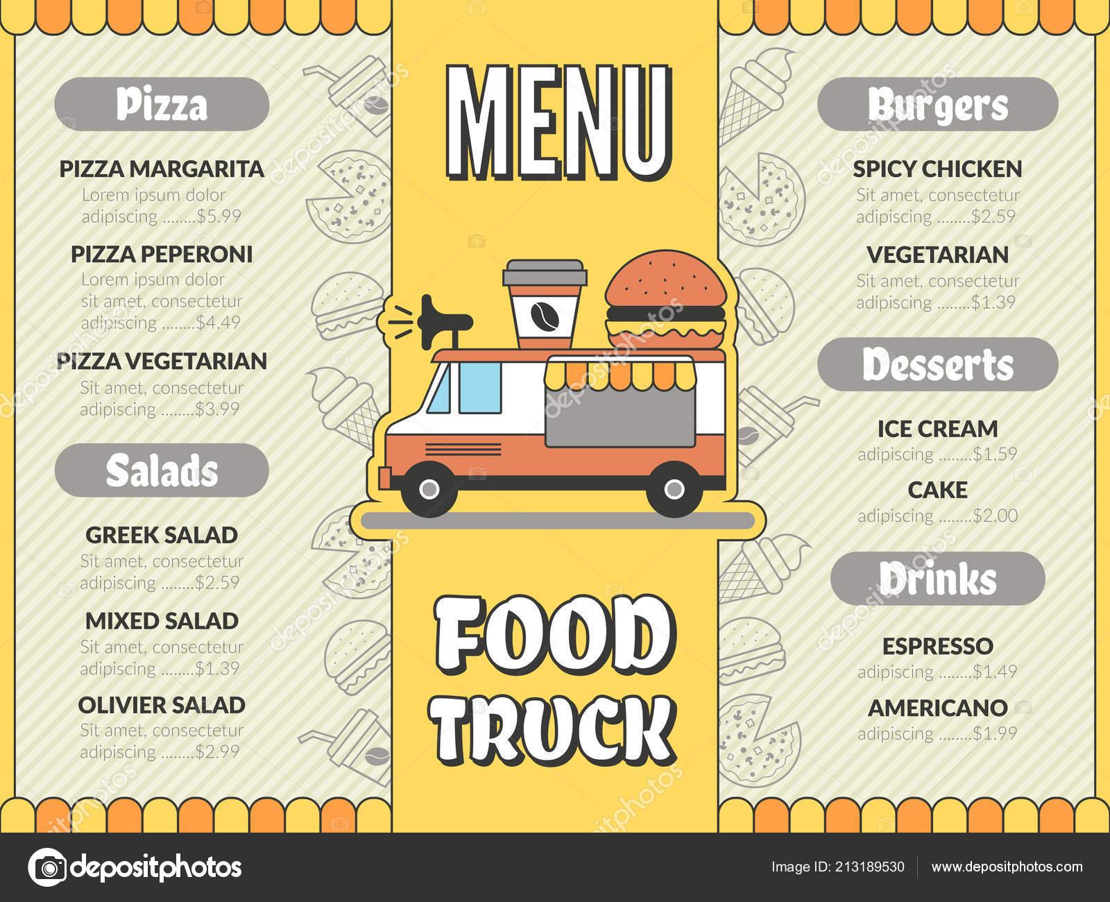 Mexican Outdoor Kitchen Designs Food Truck Menu Outdoor