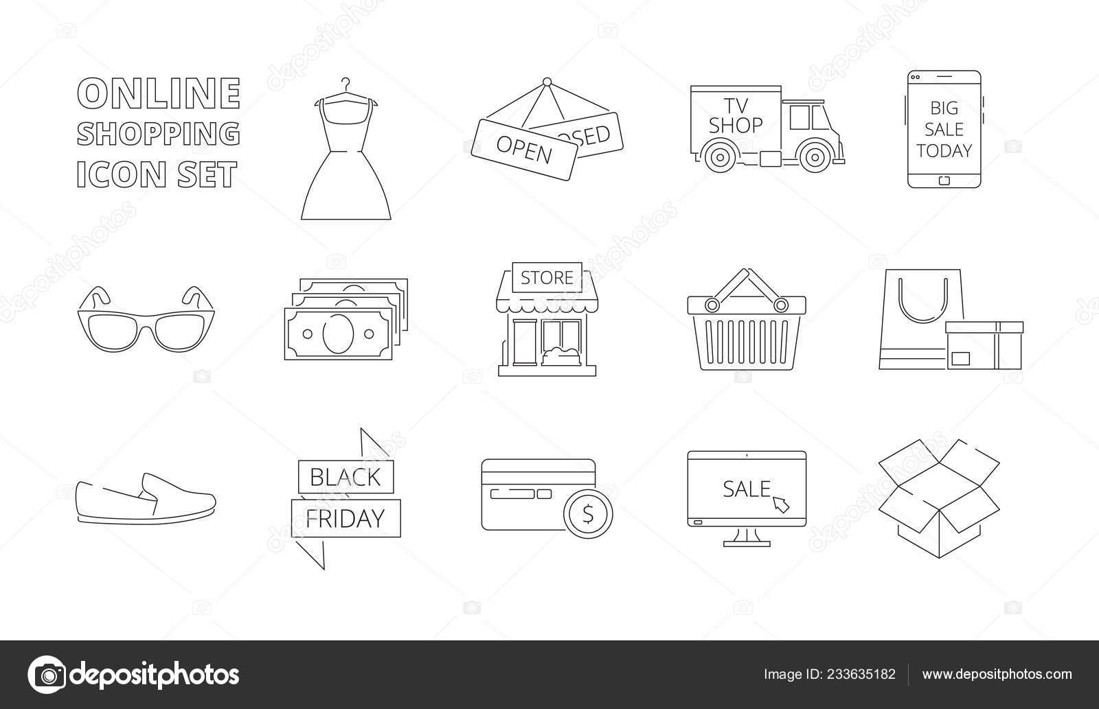 5abcd2ded87 Ηλεκτρονικό κατάστημα εικονίδια. Web online ψώνια λιανικής πώλησης  προϊόντων ηλεκτρονικής αγοράς smartphone pc πωλήσεις έκπτωση κάρτες χρήματα  ρούχα ...