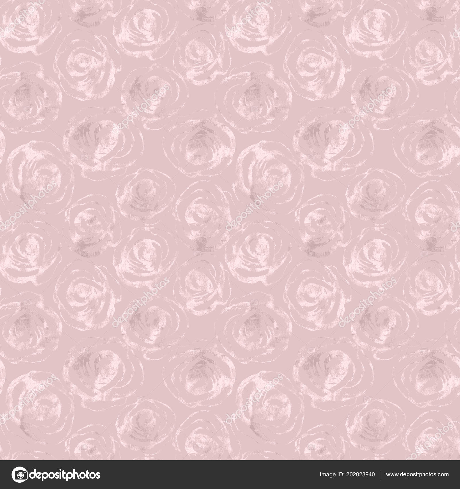 Glitter Flower Wallpaper Rose Flowers Abstract Gold