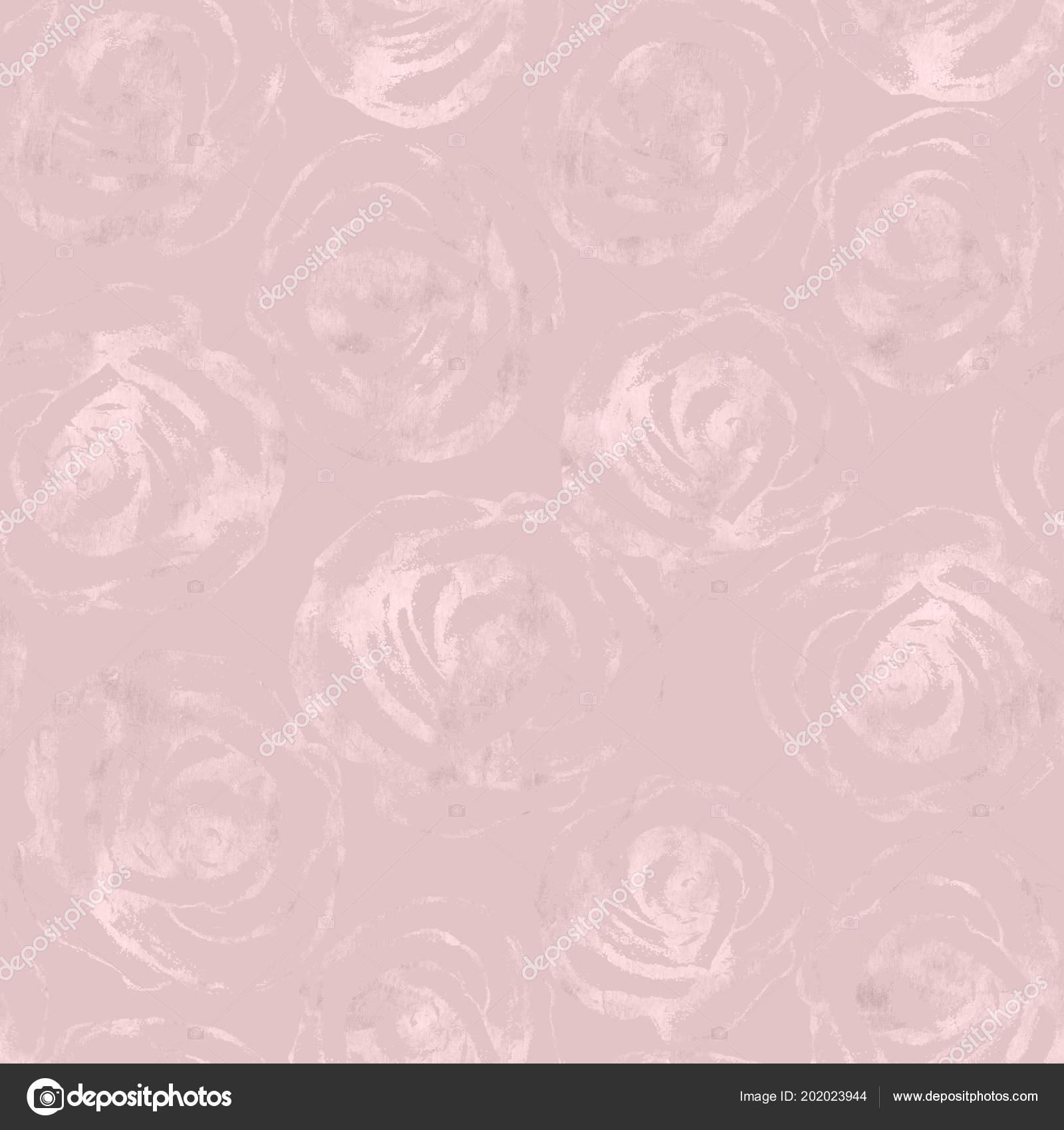Rosa Fiorisce Reticolo Senza Giunte Del Metallo Astratto