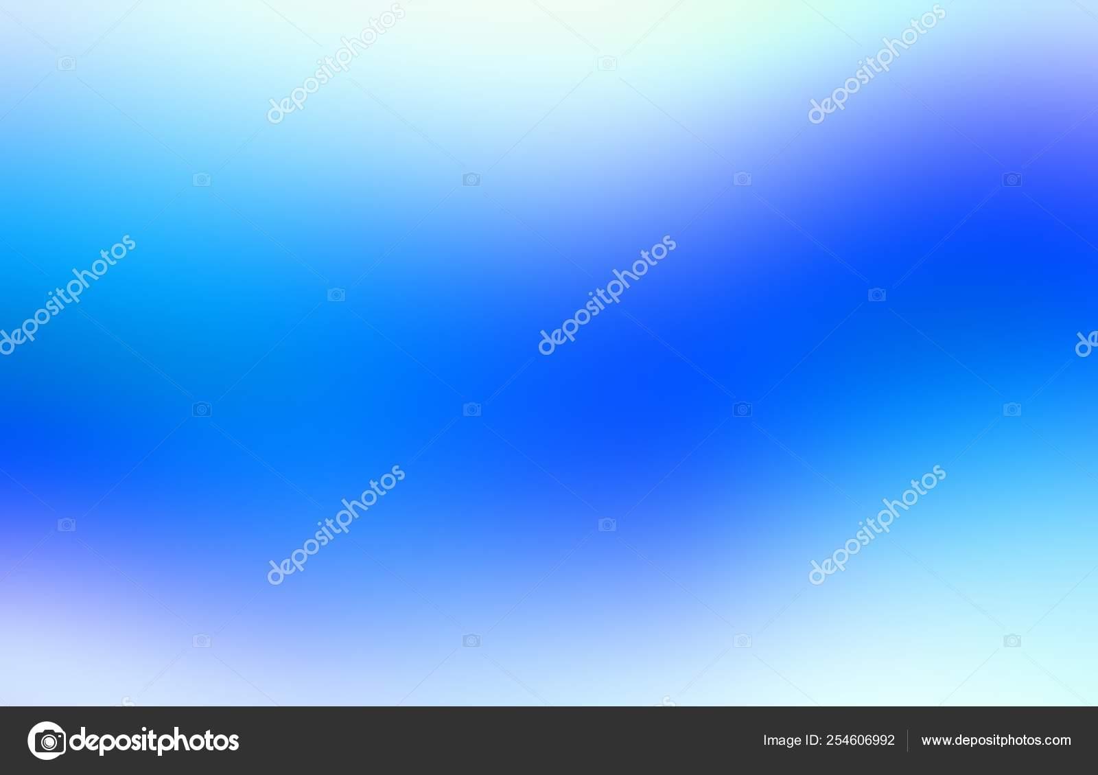 Modello Astratto Meravigliosa Onda Vibrante Sfondo Sfumato Azzurro