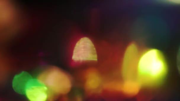 Ünnepi defocused fény rávilágít. Csillámló absztrakt elemeket, gondolatok a Holografikus fólia.