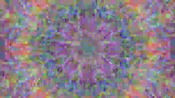 Colorful geometrical nostalgic luxury glittering pattern background.