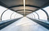metró alagút egy kereskedelmi kiállításon