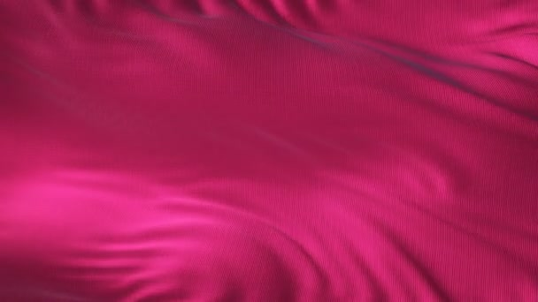 Pink textile fabric waving in the wind abstract background