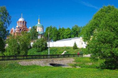 Khotkovo, Moscow Oblast, Russia - May, 2019: Pokrovsky Hotkov Mo