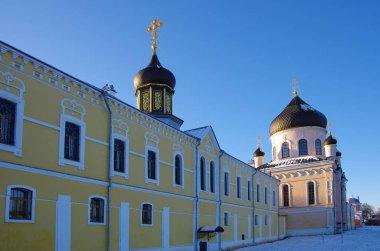 VILLAGE NOVYY BYT, CHEKHOV DISTRICT, RUSSIA - November, 2018: Th