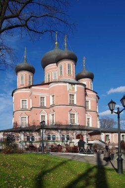 MOSCOW, RUSSIA - October, 2016: Donskoy Monastery  is a major mo