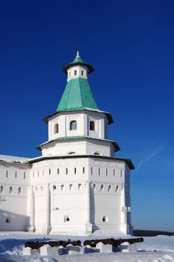 ISTRA, RUSSIA - January, 2019: The New Jerusalem Monastery, also