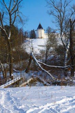 ZVENIGOROD, RUSSIA - January, 2017: Savvino-Storozhevsky monaste