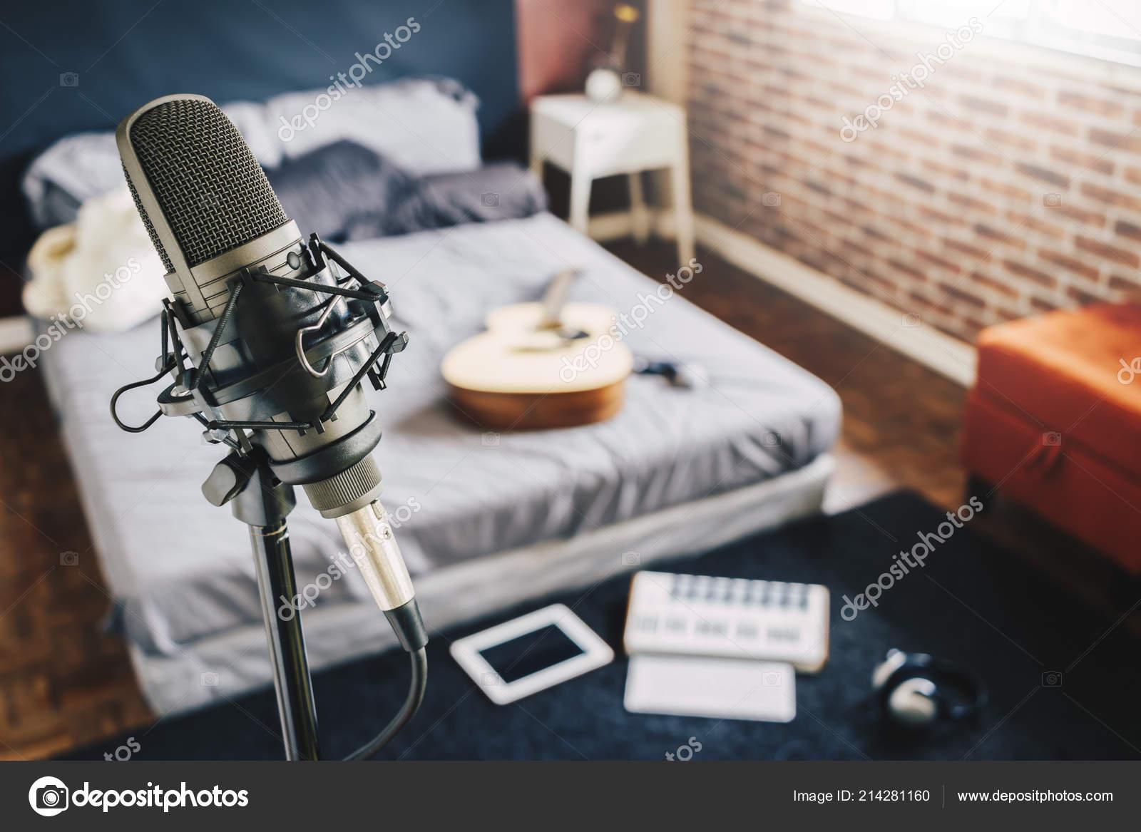 Camere Letto Studio Registrazione Domestico Microfono ...