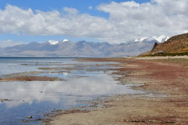 China, Tibet, the sacred lake for Buddhists Manasarovar