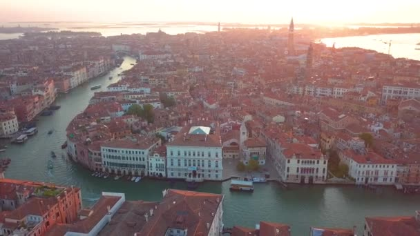 Aerial view Italy Venice