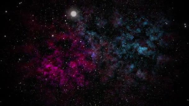Létat v prostoru ke hvězdám.