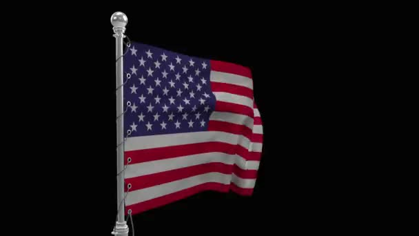 Symbol of America. Flag of the United States of America on an abstract background. USA flag, national symbol on nature background. USA flag on background. Flag of a developing wave. Texture, national symbol, united states of america, flag. Illustrati
