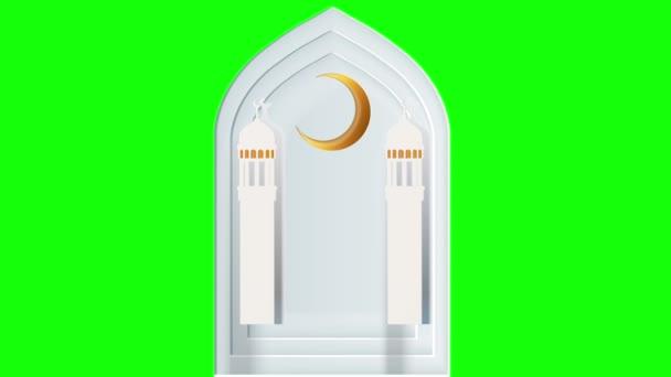 Animationszeichnung. animiertes Bild auf grünem Hintergrund. Green-Screen-Animation