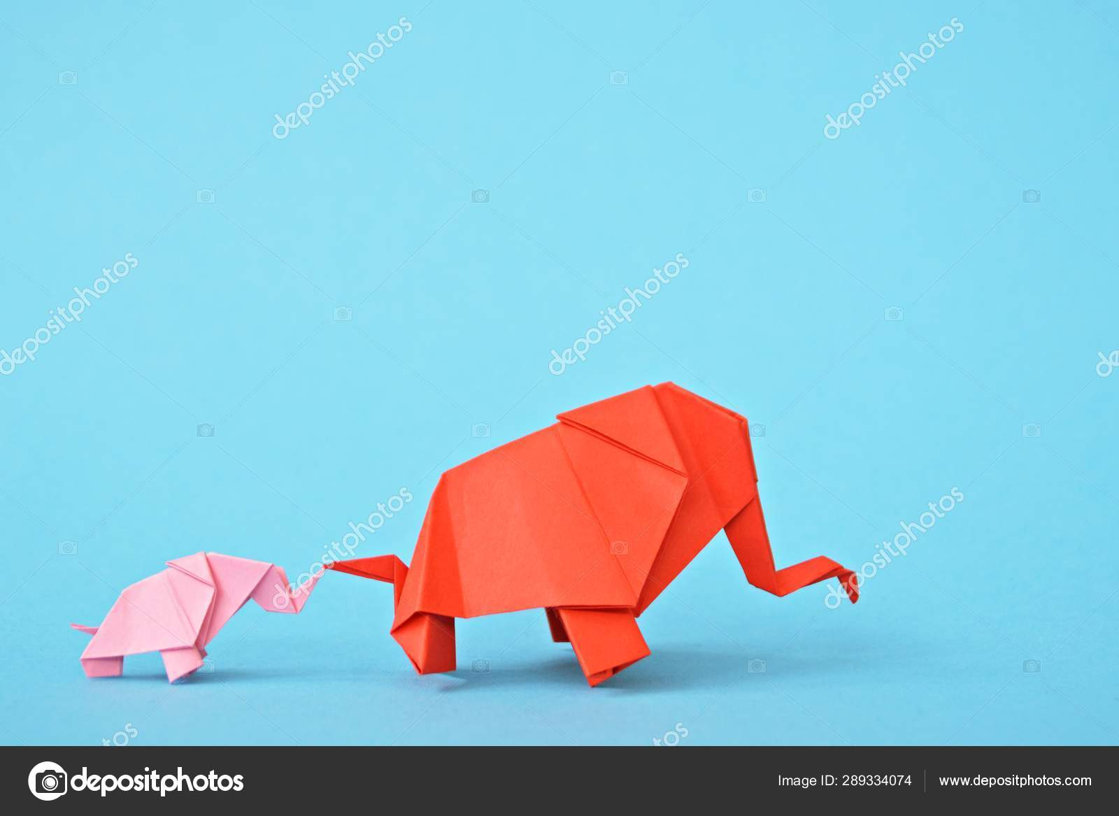 Origami Elephant - Tutorial OLD VERSION - How to make an origami ... | 1167x1600