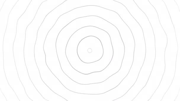 Základní návrh pohybu prvku soustředné kružnice. Abstraktní proudící hladina vlny v kruhovým vedení. Vzorek vlny. Cíl otáčení kruhu. Signál rádiové stanice. Vlnka abstraktní