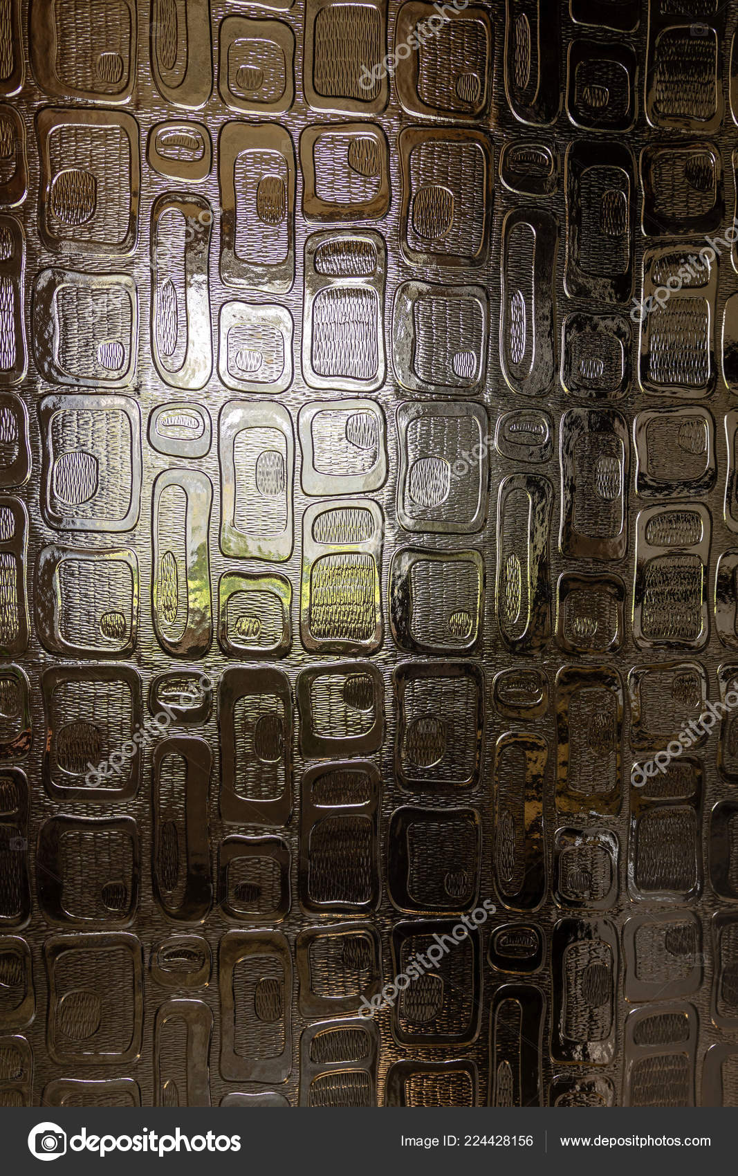 Window Light Visible Decorative Door Glass Close Photography U2014 Stock Photo