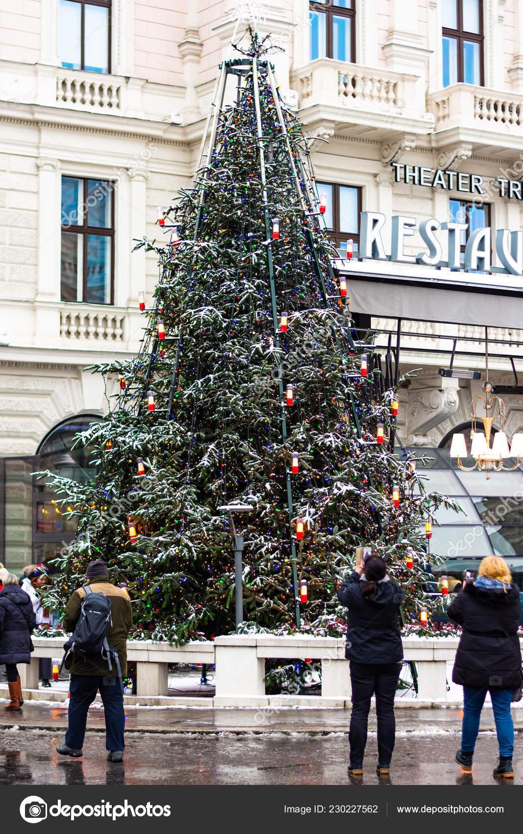 Christmas In Austria.Vienna Austria 2018 Vienna Christmas Market Austria