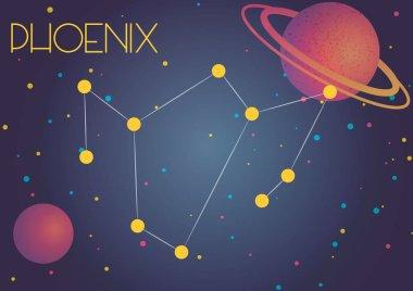The constellation Phoenix