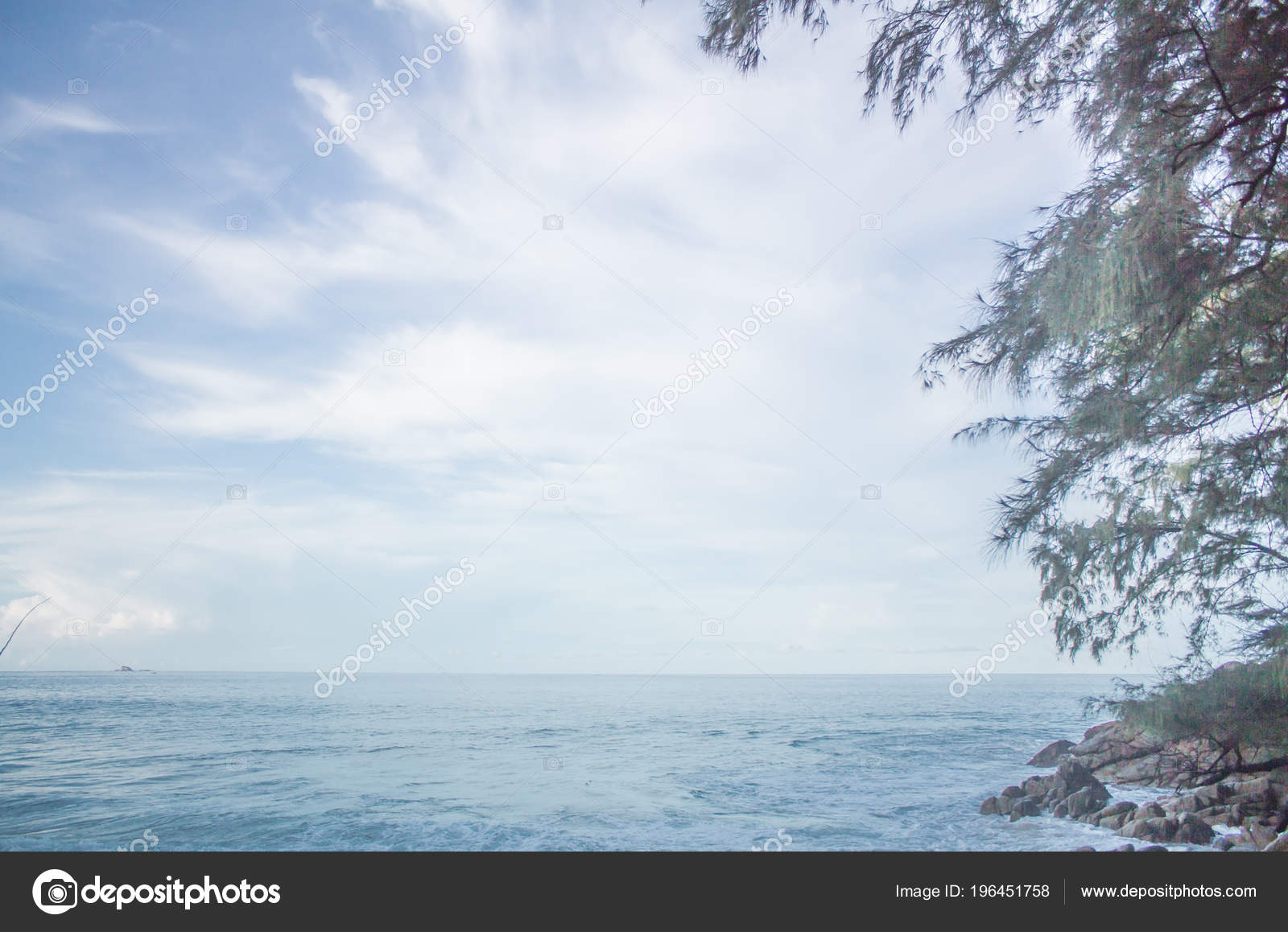 Sky Background Bright Phuket Thailand Morning Creative Used Editing