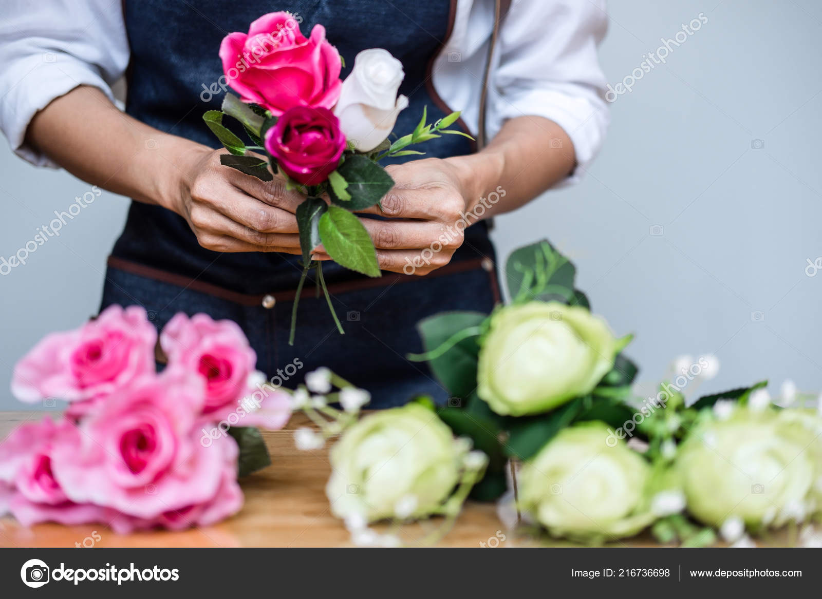 Arreglo Flores Artificiales Chaleco Decoración Hogar