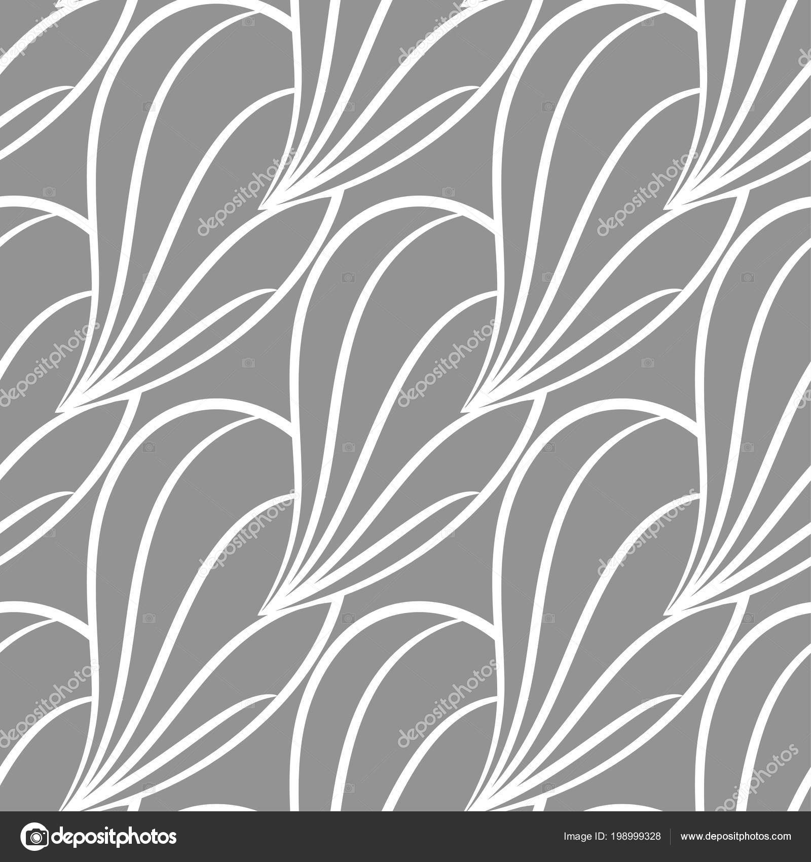 Abstract Seamless Pattern Gray White Background Textile Wallpapers Fabrics