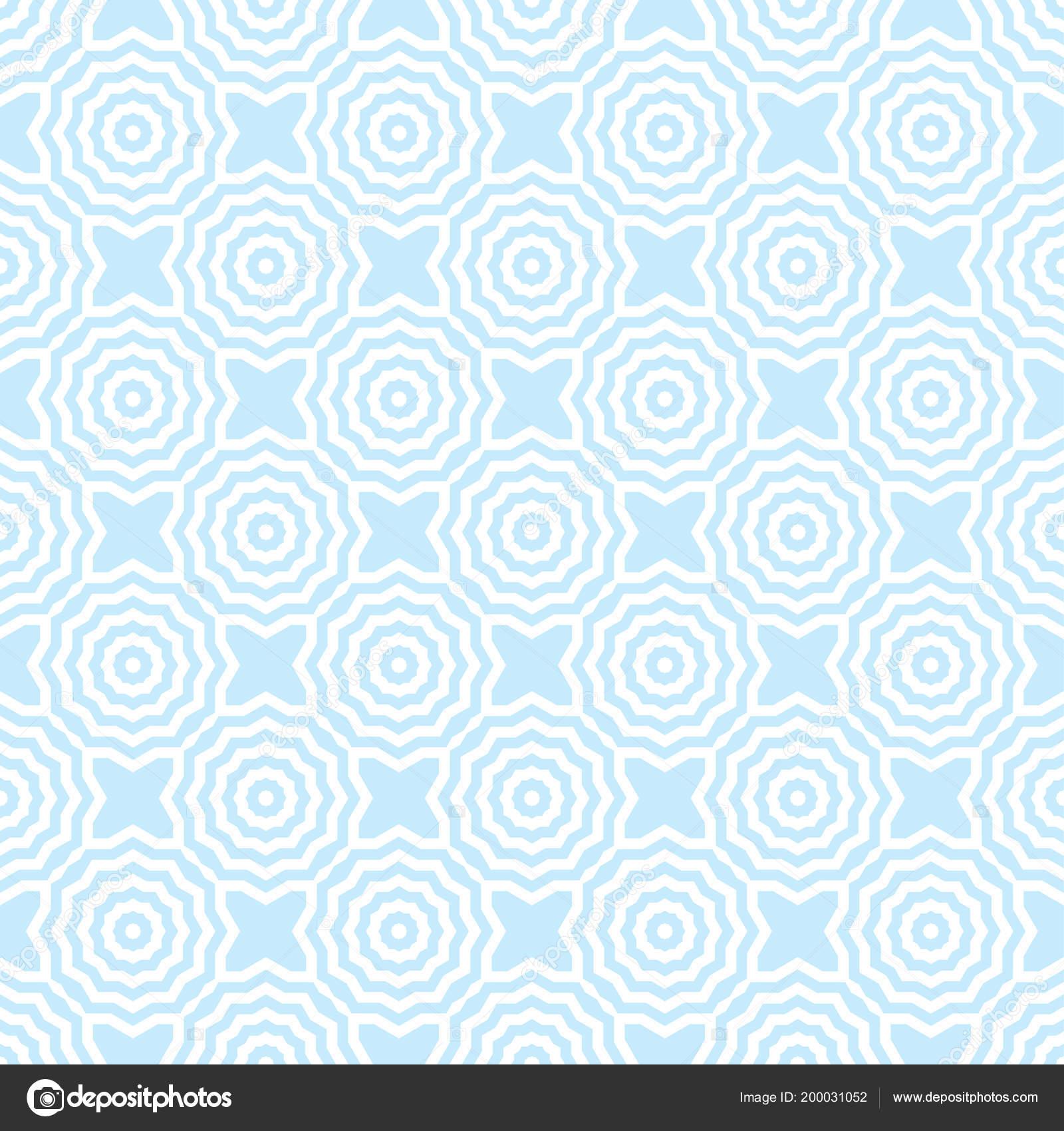 Azul Branco Abstrata Sem Costura Padrao Geometrico Fundo