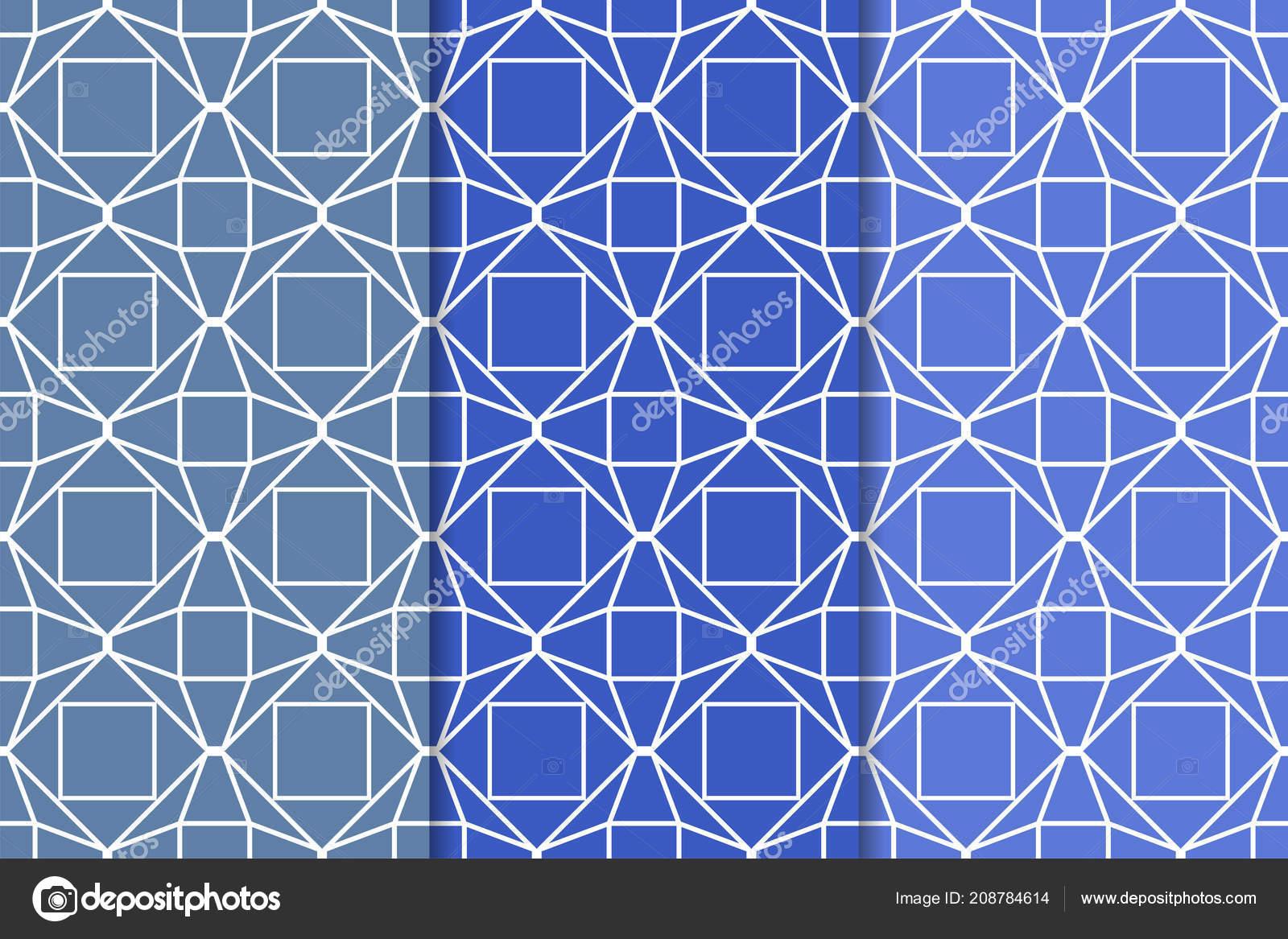 Web テキスタイルや壁紙のため垂直のシームレス パターンのブルーの