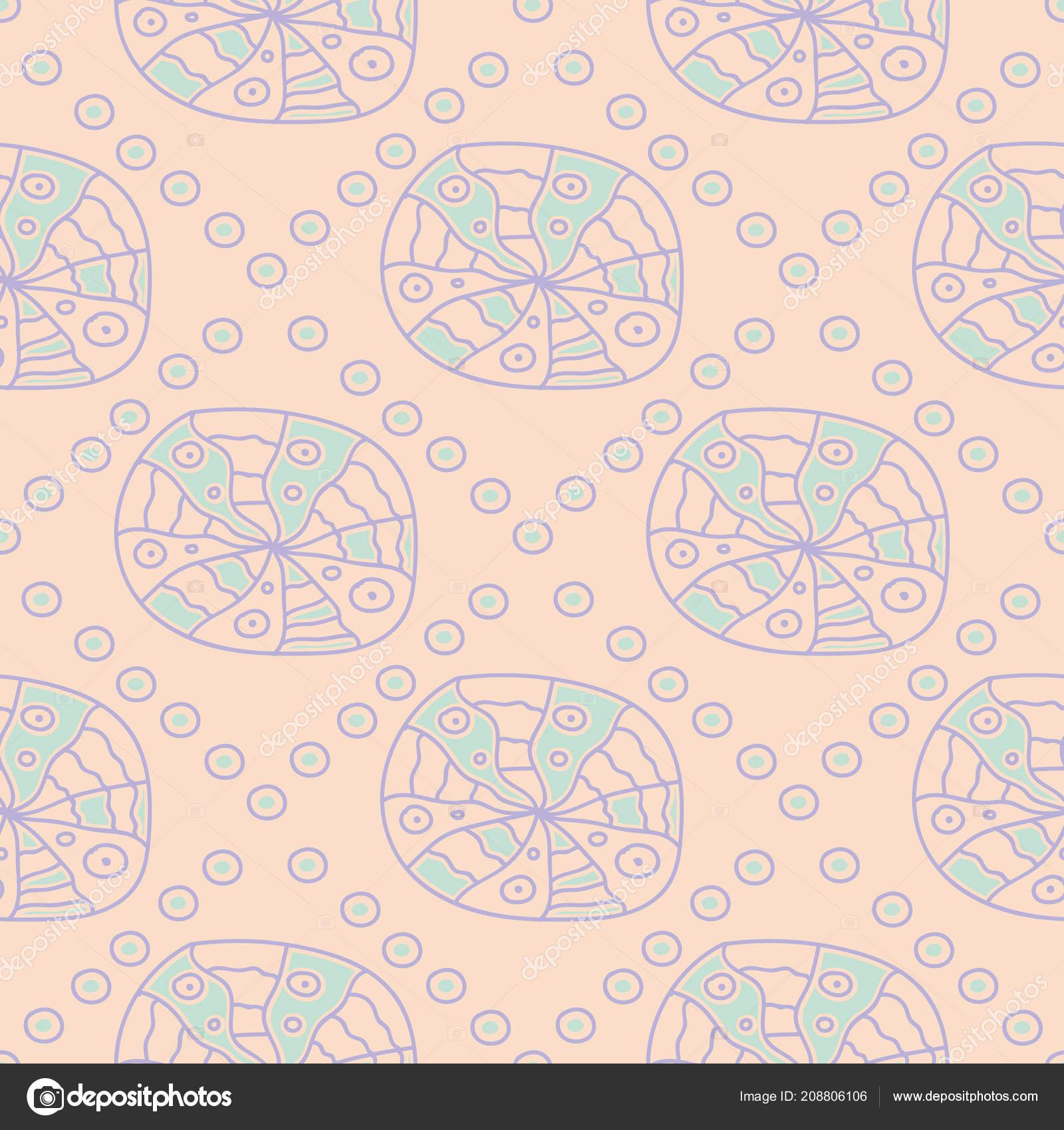 6b3b2175e7 Sem Costura Fundo Bege Geométrico Com Padrão Azul Violeta Para ...