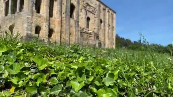 Santa Maria del Naranco. Pre-romanesque old church in Mount Naranco, in a sunny day. Oviedo, Asturias, Spain