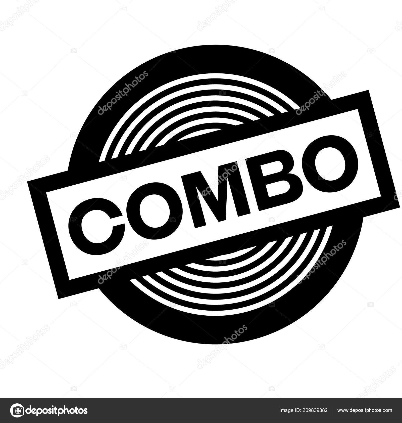 fe6f070159f9 selo de combinação preto — Vetores de Stock © lkeskinen0  209839382