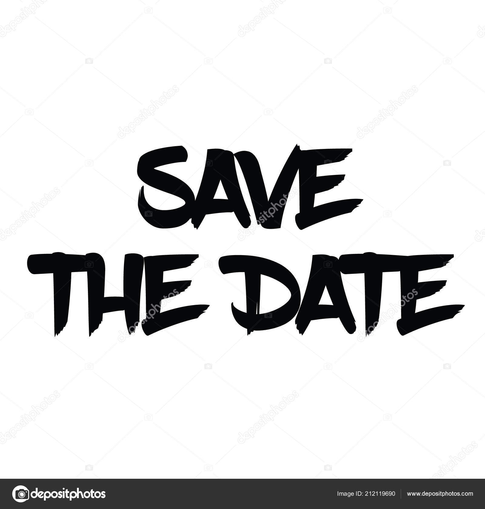 Save The Date Stamp On White Stock Vector C Lkeskinen0 212119690