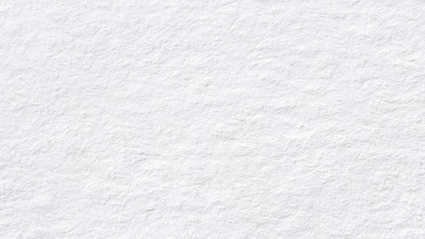 Papíru animace textury. Bílé stránky stěhování od shora dolů, které jsou určeny pro text nebo reklama