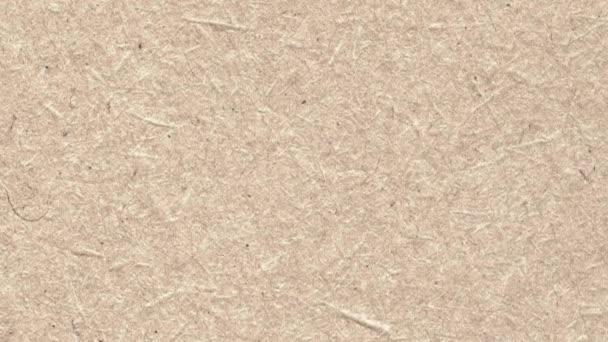 Hnědý papír textury animace, pohybující se od shora dolů, které jsou určeny pro text nebo reklama