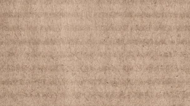 Brown podšívkou papír textury animace, pohybující se od shora dolů, které jsou určeny pro text nebo reklama