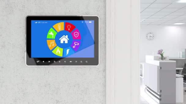 Smart Home Control s moderní kancelář