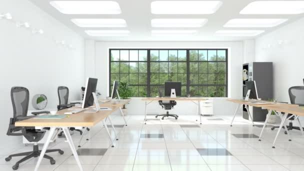 Moderní kancelářské interiéry video