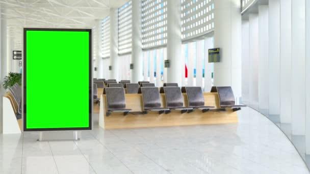 A nyom zöld képernyő óriásplakát