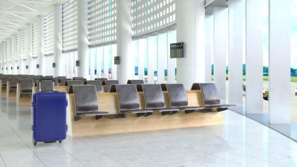 Zavazadlo v letištní terminál