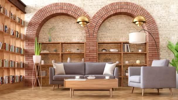 obývací pokoj v luxusní dům