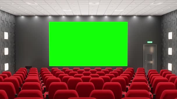 Movie Theatre Track Green Screen Stock Video C Duoanimation 243068838