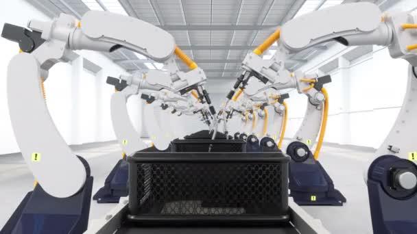 Automata robotmanipulátor gyári