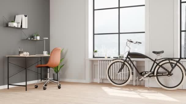 Interiér domova kanceláře