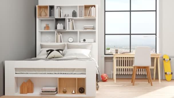 Modern Teenage room video